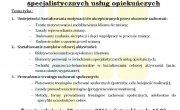 Trening umiejętności społecznych w zakresie specjalistycznych usług opiekuńczych - szkolenie